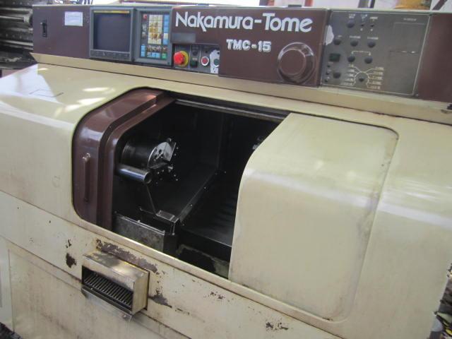 Tiện cnc NAKAMURA TMC-15